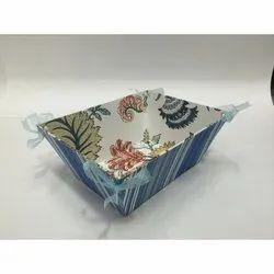 Printed Paper Basket