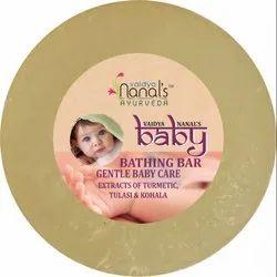 Solid Ayurvedic Baby Bathing Bar, Packaging Type: Box, 1-2 Years