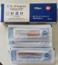 Tianxie Pinpai Brand Acupuncture Copper Needles 0.25X25 - One Chun