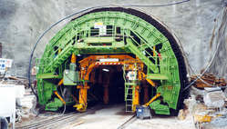 Cast Iron Tunnel Lining Formwork Equipment