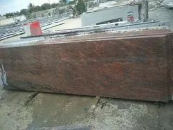 Polished Multi Red Granite, Thickness: 15-20 mm
