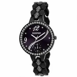 Stylish Black Ladies Watch
