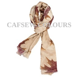 Designer Printed Wool Scarves