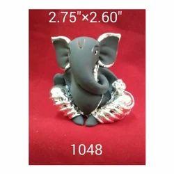 1048 Sitting Ganesha Statue
