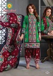 Cotton Unstitched Women Dress Material