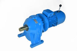 Three Phase Geared Motor for Car Parking, Speed: 300 to 1800 RPM