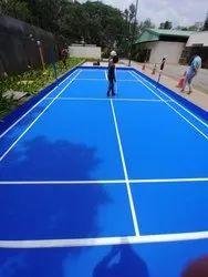 Outdoor Indoor sports flooring