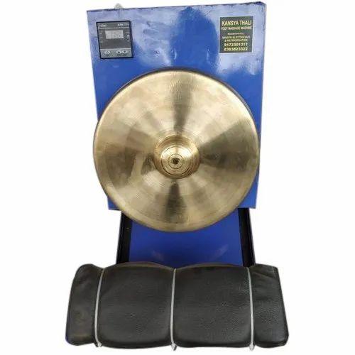 Rolling Mechanical Digital Kansya Thali Foot Massage Machine For Household 200 Watt Rs 30000 Piece Id 21191666191
