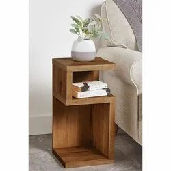 Wooden Brown Bed Side Table for Home