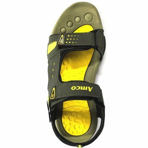 Men''s Yellow Sandal, Gents Sandals