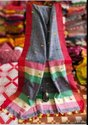 Full body pompom handloom saree