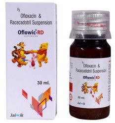 Ofloxacin 50 Mg & Racecadotril 15 Mg Sus