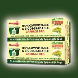 BOPP Compostable Garbage Bag, Capacity: 2kg