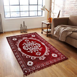 Printed Rectangular Designer Floor Carpet, Packaging Type: Roll