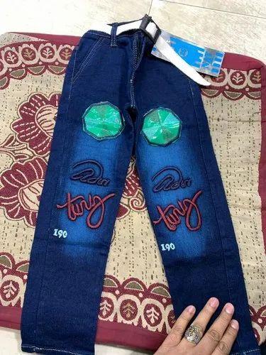 Blue Denim Boys Fashion Jeans
