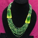 Resin Glass Seed Beads Necklaces