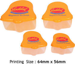 Printed Plastic Container Set