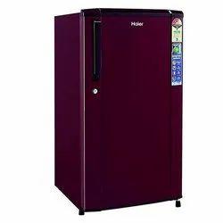 Plastic 3 Star Haier Refrigerator, Top Freezer, Single Door