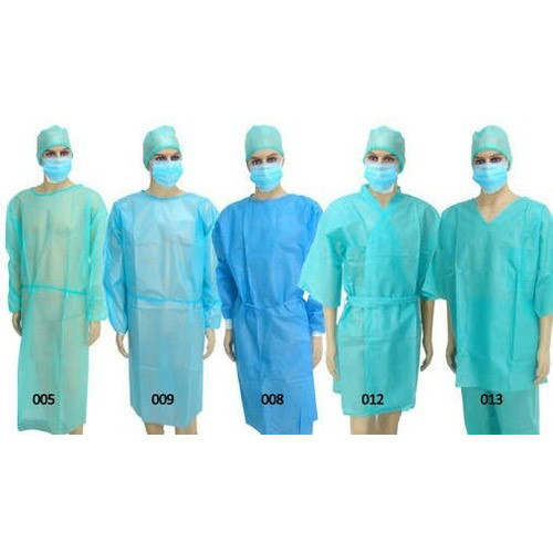 Hospital Disposable Gown, Size: S, M, L & XL, Rs 35 /piece | ID ...