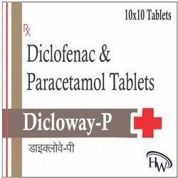 Diclofenac And Paracetamol Tablets