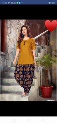 Ladies Long Top With Dhoti