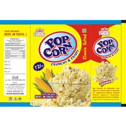 AKP Crunchy And Crispy Pop Corn, Packaging Type: Pouch