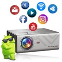 Egate K9 Android LED 720p 2400 Lumens 4D Digital Keystone HD Projector