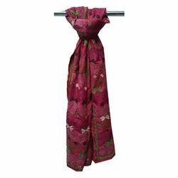 Girls Neck Wrap Silk Scarfs