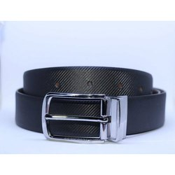 Drill Italian Leather Belt