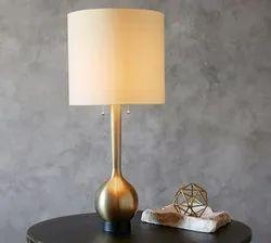 ALUMINIUM GOLD PLATED LAMP