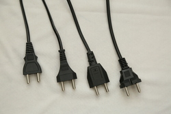 2 Pin AC Power Cord