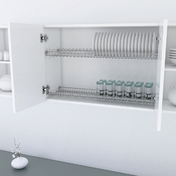 Glass and Plate Rack Wire Base