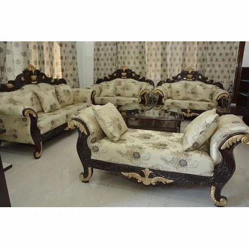 Acme Wood Designer Sofa Set Living Room For Home Rs 200000 Set Id 15554032688