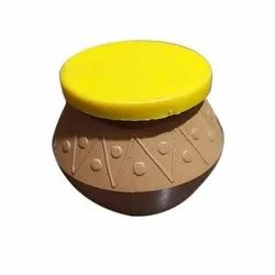 Brown, Yellow Round Disposable Matka, For Packaging, Capacity: 50ml