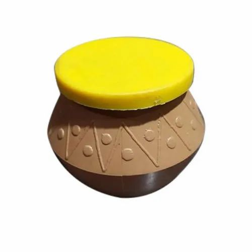 Brown,Yellow Round Disposable Matka, For Packaging, Capacity: 50ml