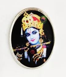 Krishna Color Silver Coin 20gm.