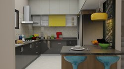 Modular Kitchen Cupboard