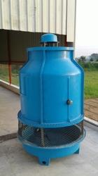 Counter Flow Induced Draft Type Bottle Shaped FRP Cooling Tower, Capacity: 9 To 400 m/hour