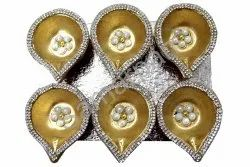 Golden Stone Diya 7092004891268