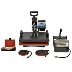 Manual Sublimation Combo Machine - 5 In 1