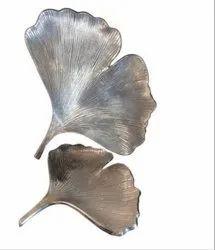 Aluminium Leaf Serving Platter