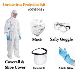 Personal Protection Equipment Kit, PPE Kit, Fully Waterproof and SITARA Certified