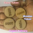 Wooden Tokens
