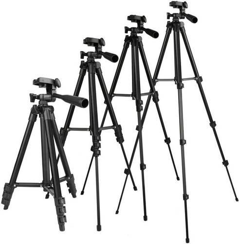 ROQ Adjustable Tripod 3120 For Mobile And Camera Stand Holder