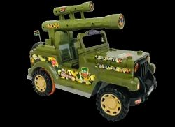 Junior Commando Jeep Toy
