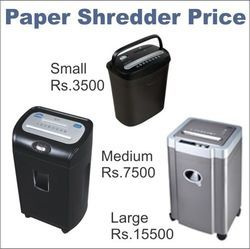 Paper Shredder Price