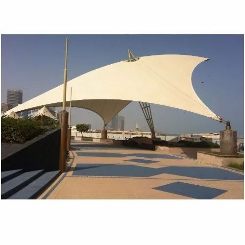Tensile Sun Shed Structure