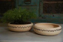 Bosai Ceramic Planter