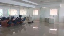 Transparent Toughened Safety Glass for Office