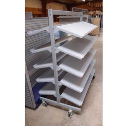 4-7 Feet Mild Steel Shoe Display Rack, For Supermarket,Showroom